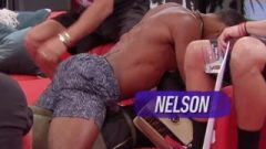Nelson Thomas – Shirtless/Abs/Grinding On Farrah Abraham – Lap Dance