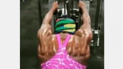 New Girl! Giant Back, Meaty Ripped -Pauline Nelson