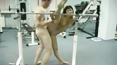Flexible Gymnast Gets Banged