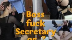 Secretary In Stockings Banged By Her Boss In Full Nelson Position