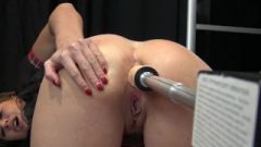 Anal Splurt Fuck Machine In Cute Small French Ass-Hole By Vic Alouqua